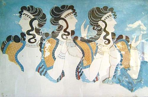 Afbeeldingsresultaat voor greek wall paintings