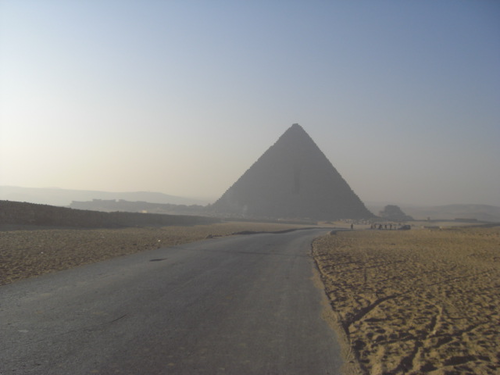 2011 Tour Starts from the Great Pyramids
