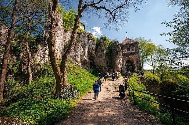 Ойцув, Польша (Руины Ойцовского замка)