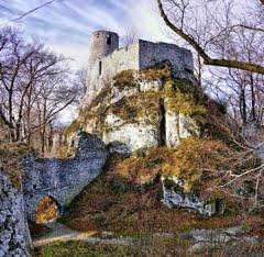 Smoleń, Польша  Замок Смолень (zamek Smoleń).