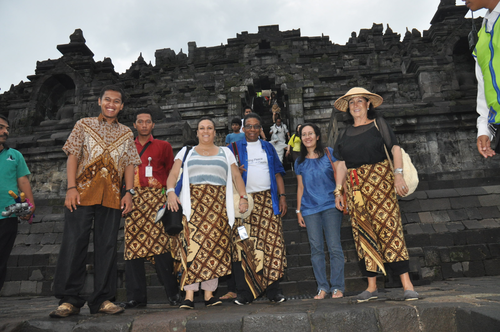 Borobudur, Central Java, Indonesia