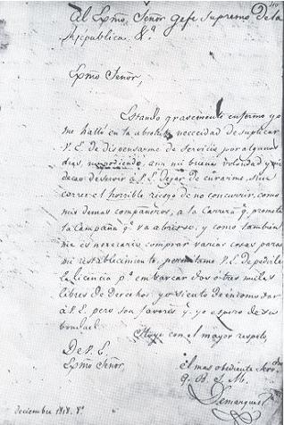 Bolivar S Jamaica Letter