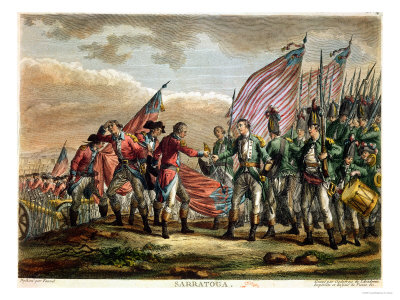 a turning point in the american revolution and boosted morale as well as convincing the french of the american cause and formally entering the war as their