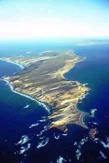 Isla Capitana (modern day San Miguel Island in the Channel Islands)