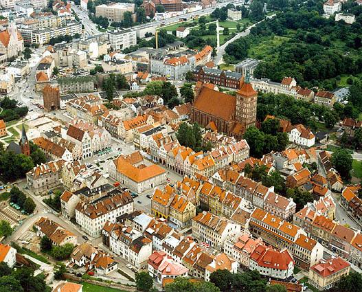 Ольштын, Польша