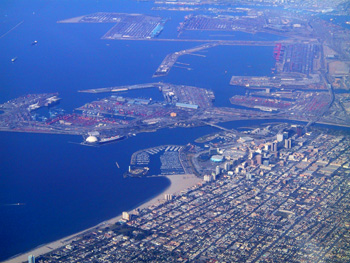 San Pedro Bay (modern day Long Beach)