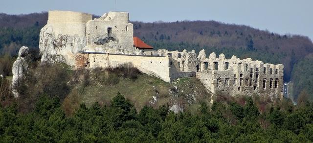 Rabsztyn, Польша