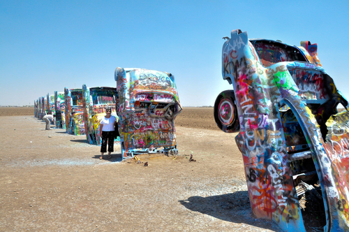 Cadillac Ranch, Canadian River Breaks, TX 79124