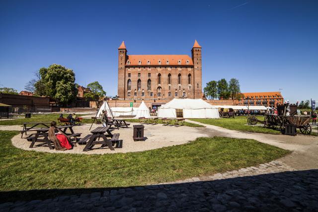 Замок Gniew, Польша