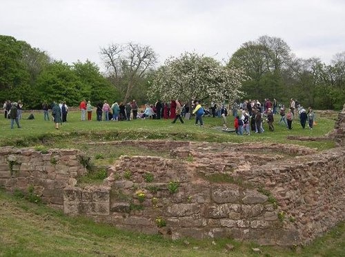 Weoley Castle Ruins