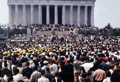 Marcia su Washington per il lavoro e la libertà  Wikipedia