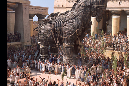 the trojan war myth vs movie The evidence behind movie myth  the least plausible explanation, most archaeologists agree, is that the trojan war was fought over helen,.