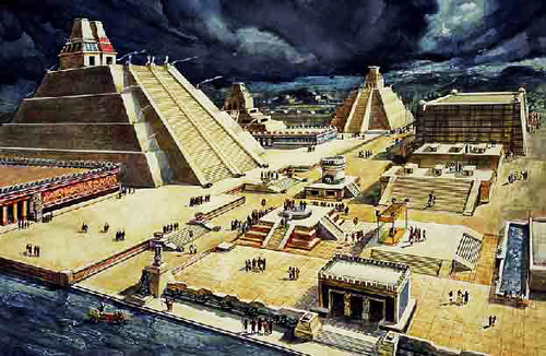 Tenochtitlan, New Spain (modern day Mexico City)