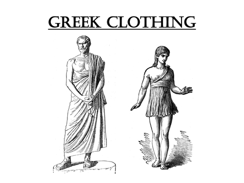 Ancient Greek Clothing Was Homemade There Intensly Colored And Decorated With Intricate Designs Men Womens Consisted Of