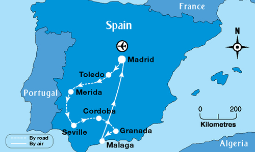 Map Of Spain 8th Century.Expansion Of Islam Into Spain On Tripline